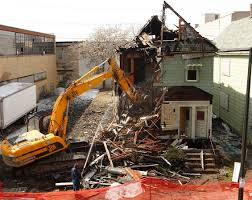 Housing Being Torn Down