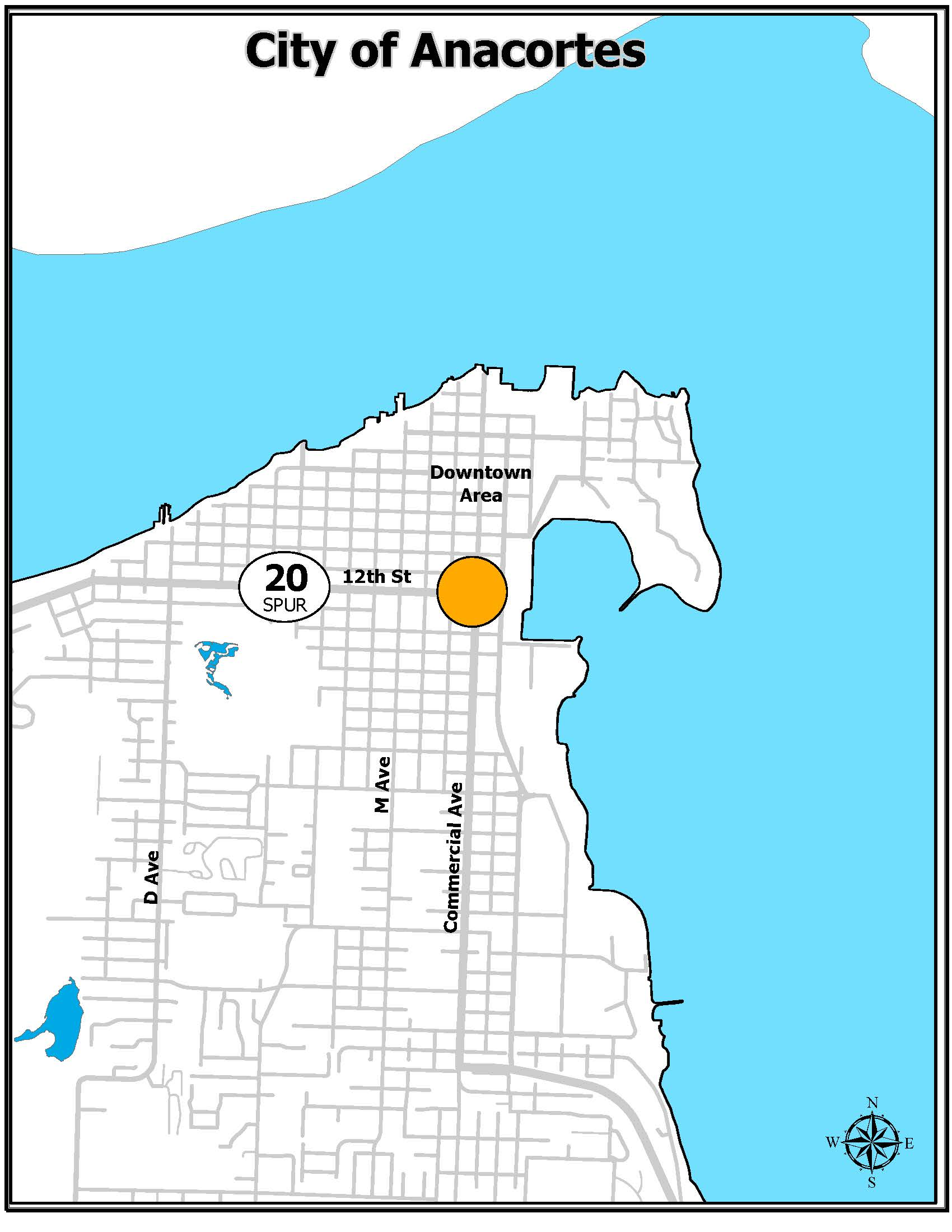 12th and Comm vicinity map