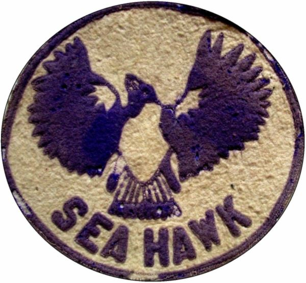 Sea Hawk patch 1920s